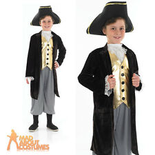 Young Gentleman Costume Boys Regency Fancy Dress Dick Wittington Town Crier New