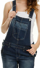 Womens Denim Dungarees