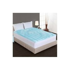 Sleep Better Orthopedic Mattress Topper Comfortable Gel Memory Foam 4 Beds 2 in.