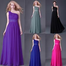 SPECIAL Long Evening Ball Gown Bridesmaid Maxi Dresses Prom Wedding Party Dress