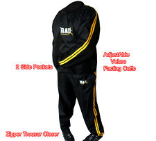 RAD™  Sweat Sauna Suit Gold Gym Training Track Suit Unisex Slimming Weight Loss