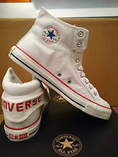 New Unisex Converse CT PC2 MID White Leather Hi Top Trainers 115661 Mens Womens