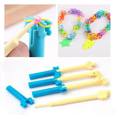 plastic Hook with Mini Loom Kit For Loom Rubber Bands Refill DIY Tool