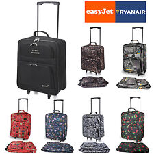 Small Light Cabin Folding Suitcase Airline Luggage Wheels Carry Case Travel Bag