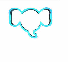 Elephant Cookie Cutter Elephant Face Cookie Cutter