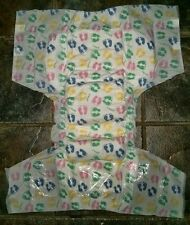 "Med / Large Rearz SPOILED Print ABDL Adult Diapers +""NUK"" 6 Pacifier. THICK++."
