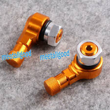 Universal 2PCS Motorcycle Aluminum 90/83 Degree Angled Valve Stems