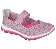 Skechers SKECH AIR 2.0 GRACE BAY Womens Pink Slip On Athletic Mary Jane Shoes