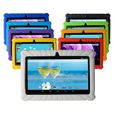 "Pugo Top P7 7"" Quad Core Android 4.4 Tablet PC Dual Cam Wifi 8GB /w Rubber Case"
