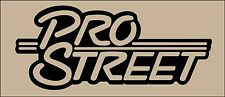 PRO STREET drag custom car truck racecar decal sticker,wall, car, laptop, etc