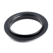 52 55 58 62 67 72 77 mm Lens Macro Reverse Adapter Ring For Canon EOS Camera