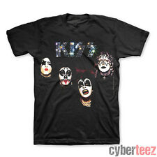 KISS Self Titled First Album Cover T-Shirt Brand New Authentic Rock S M L XL XXL