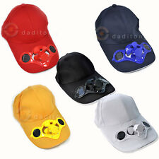 Daylight Outdoor Sport Solar Power Hat Cap Cooling Cool Fan For Golf Baseball R1