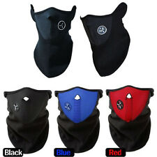 Red/Blue/Black Dustproof & Windproof Half Face Mask for Ski Cycling Motorcycle