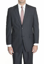 IZOD Classic Fit Blue Pinstriped Two Button Pleated Pants Suit