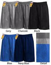 Mens Hill Mesh Short Jersey Plain Pants Basketball Gym Fitness School Uniform PE