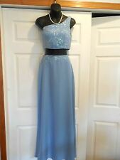 Joli Prom Corn Flower Sequin, Beaded Solid Polyester Full Length 2 Piece 10