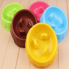 Puppy Dog Slow Down Eating Feeder Dish Cat Feeding Food Bowl Free Shipping