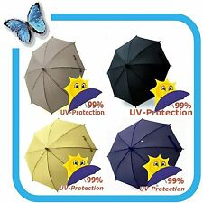 Sun Parasol Umbrella Stroller Pram Pushchair UV-Protection 50+ Different Colours