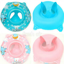 Inflatable Swimming Ring Baby Child Kid Handle Safe Seat Float Chair Pool Toy