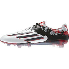 Adidas Messi Pibe de Barr10 10.1 FG Cleats Soccer Shoes White Red B23767 US 7-11