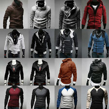 Various Mens Slim Fit Sexy Top Designed Zipper Hoodies Jacket Coat Sweater Shirt