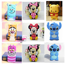 Pooh Tigger 3D Cartoons Soft Silicone Phone Case Cover For Iphone 6 6plus 5/4S
