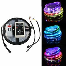 16.4FT 5050 SMD Horse Strip/6803IC Dream color waterproof LED Strip+controller