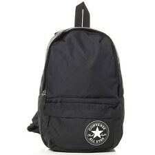 Converse Back To It Mini Kids Boys Girls School Back Pack Bag Black New