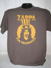 Frank Zappa T-Shirt Tee Music For President Band Apparel New 1003