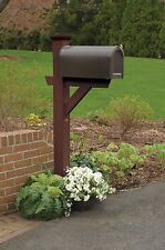 Highwood Hazleton Outdoor Mailbox Post - Assorted Color
