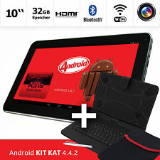 10 inch Tablet PC 32GB Android 4.4.2 Quad Core Bluetooth HDMI  Bundle Keyboard