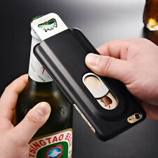 "For iPhone 6 4.7"" Cool Aluminum Metal Beer Bottle Opener Hard Back Case Cover"