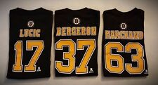 NHL Toddler Boston Bruins Bergeron,Marchand,Lucic Player T-Shirt Jersey-2T-4T