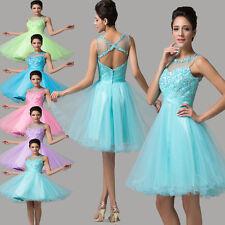 2015 CHEAP Short Homecoming Dresses Bridesmaid Formal Party Ball Gown Prom Dress