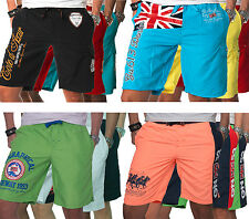 Geographical Norway Herren Bade Shorts Schwimm Hose Sommer Polo Bermuda Badehose