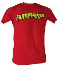 Hulk Hogan Hulkamania Red T-Shirt New
