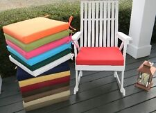 """17""""X17""""X2"""" Foam Cushion Pad for Rocker Rocking Chair  -  SOLID COLORS - Outdoor"""