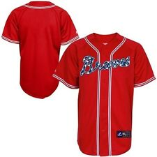 Atlanta Braves Majestic Military Alternate Mens Replica Jersey Big & Tall Sizes