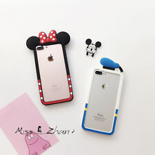 """New Cute Cartoon Soft Silicone Bumper Case For iPhone 4S 5S 6 4.7"""""""