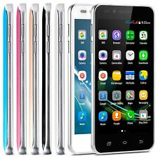 "Unlocked 5"" 3G Android 4.4 Work For AT&T T-mobile Cell Phone Smartphone GSM GPS"