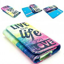 Popular Universal Pattern PU Leather Wallet Case Cover For Samsung S 4 5 6 Phone
