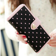 new fashion 2015 long PU leather women purse wallet card holders phone handbag