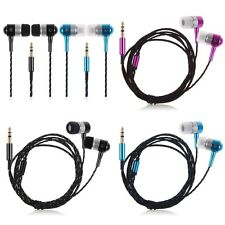 3.5mm In-Ear Earbud Headphone Earphone Headset For Various Phone iPod MP3 Tablet