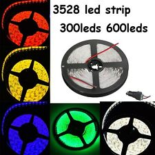5M 300/600leds 3528 SMD Flexible Non/Waterproof  Led Strip Light Ribbon / Power