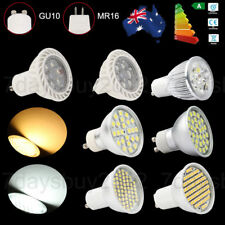 GU10 LED Bulbs 9w 15w High Power 60/80 24/30 SMD Dimmable Spot Lights MR16 Lamps