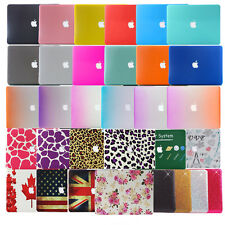 """Rubberized Hard Cases Laptop Shell Cover For Apple Macbook Air 11""""13"""" Pro 13""""15"""""""