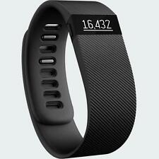 Fitbit - Charge Wireless Activity Tracker Sleep Wristband  - Black - Small (NEW)