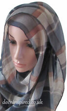 Patterned Hijabs - Various Styles and Colours