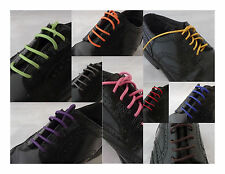 BUY 2 GET 1 FREE - Waxed Color Shoe Laces Sport Sneaker Work Dress String Cotton
